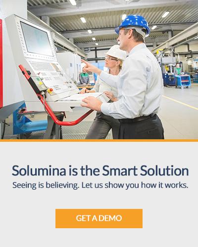 Get a Demo - Smart Manufacturing - Solumina