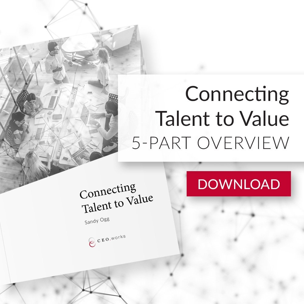 Download the Connecting Talent to Value whitepaper