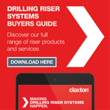 Click here to download Claxton's drilling riser systems buyers guide