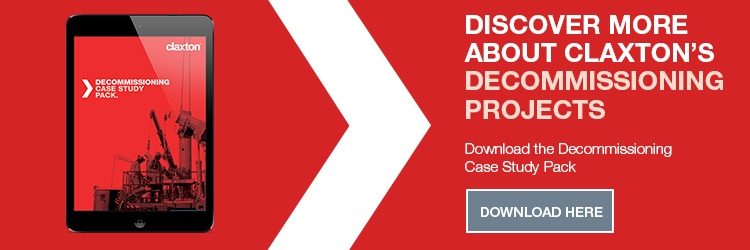 Discover more about Claxton's decommissioning projects