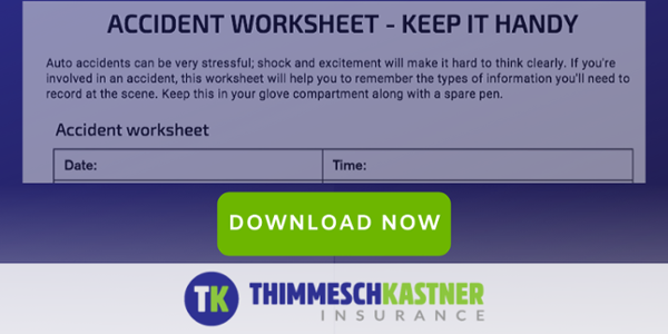 Thimmesch Kastner Insurance | Accident Worksheet