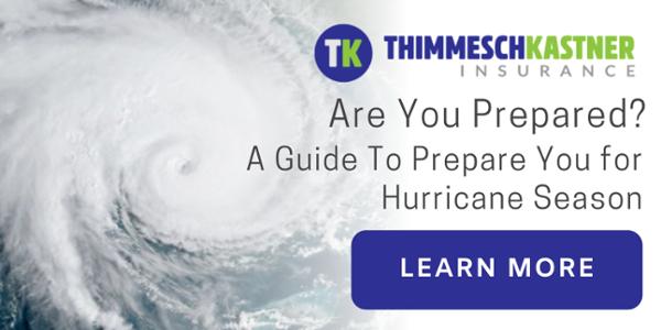 Hurricane Season Guide | Thimmesch Kastner Insurance | Lafayette LA