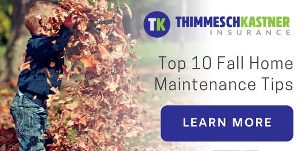 Our Top 10 Fall Home Maintenance Tips TK Insurance Lafayette LA