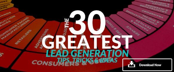 30 Lead Generation Tips Tricks and Ideas guide