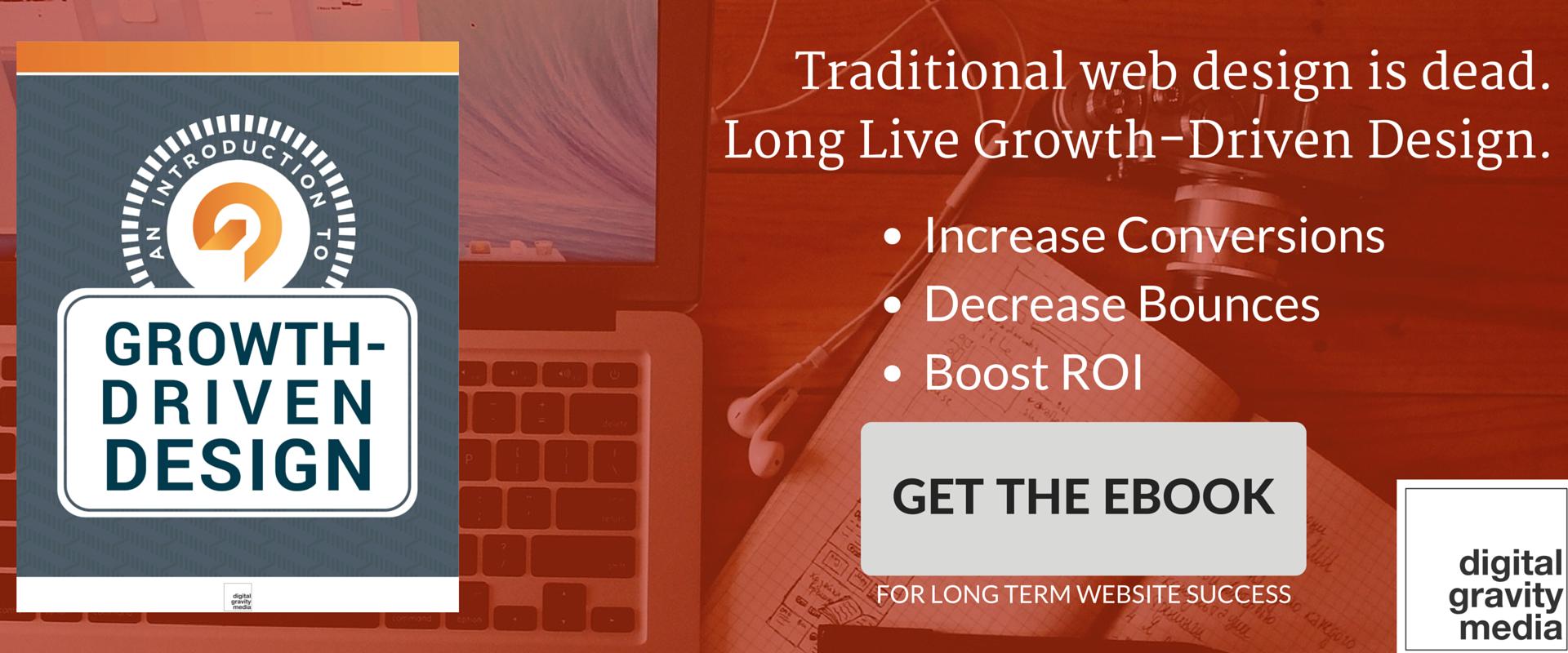 Growth driven design - modern website tips