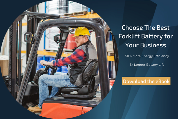 Choose the best battery for your forklift