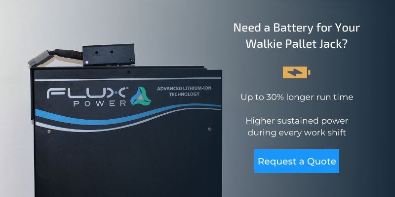 Request a Walkie Pallet Jack Battery Quote