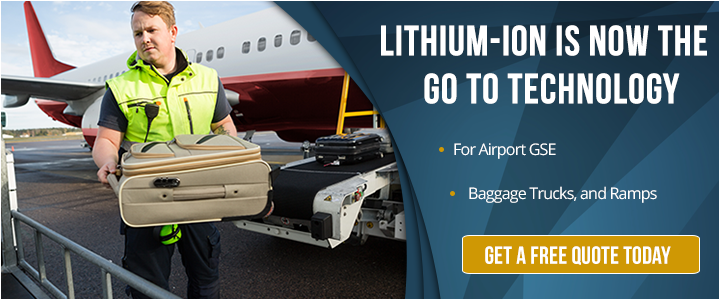 Airport GSE Lithium-ion battery