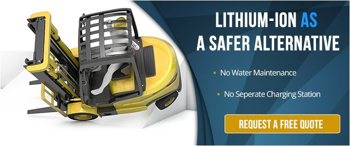 Lithium-ion Battery Makes Your Forklift Safer