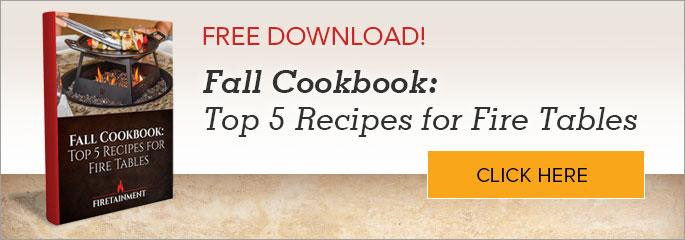 Fall Cookbook Fire Table Recipes