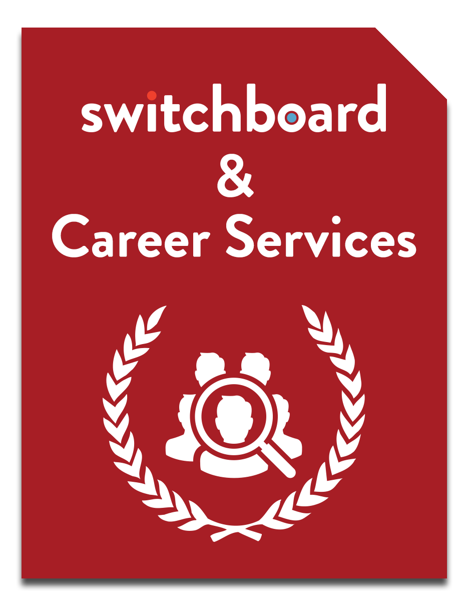 Switchboard and Career Services booklet
