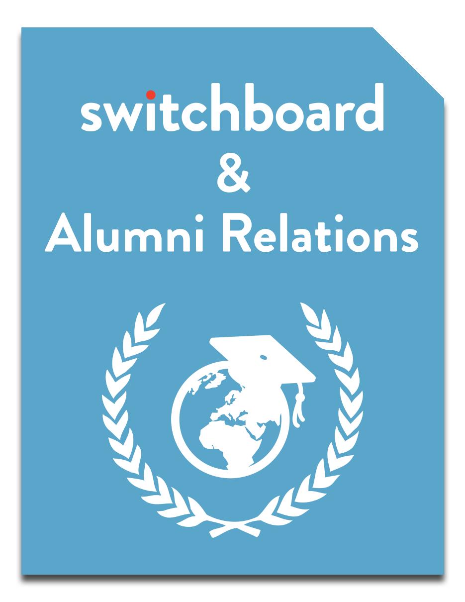 Switchboard and Alumni Relations booklet