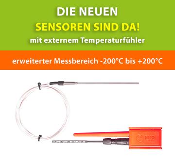 Neue Sensoren mit externem Temperaturfühler verfügbar!