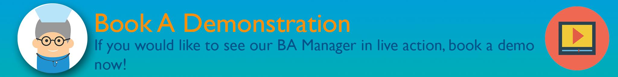 BA Manager Demo