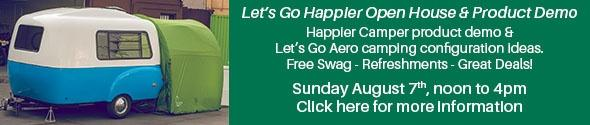 Let's Go Happier Open House & Product Deomo