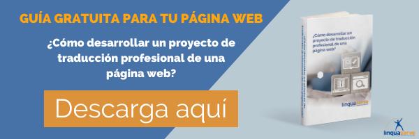 Guía gratuita de traducción web profesional
