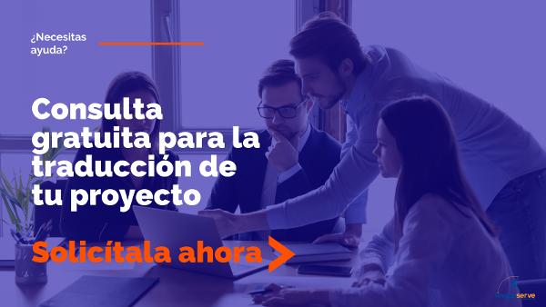 Consulta gratuita con expertos en traducción web