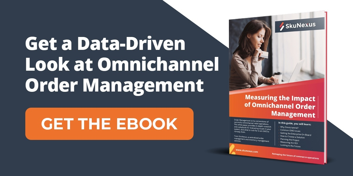 Data driven omnichannel order management