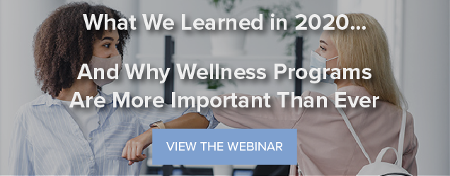 What We Learned in 2020... And Why Wellness Programs Are More Important Than Ever