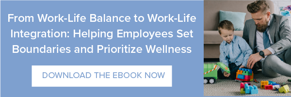 Better Work-Life Balance, Better Engagement - Download the Ebook!