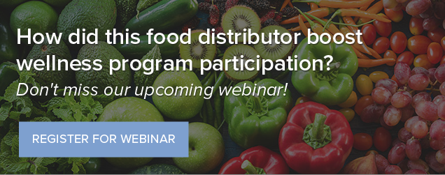 How did this food distributor boost wellness program participation?
