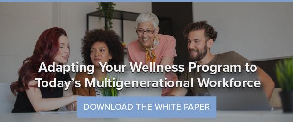 Adapting Your Wellness Program to Today's Multigenerational Workforce