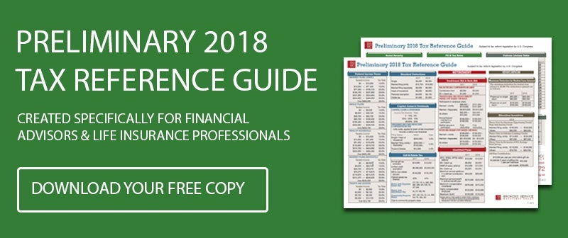 Preliminary 2018 Tax Reference Guide