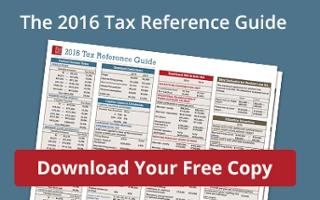 Download the 2016 Tax Reference Guide