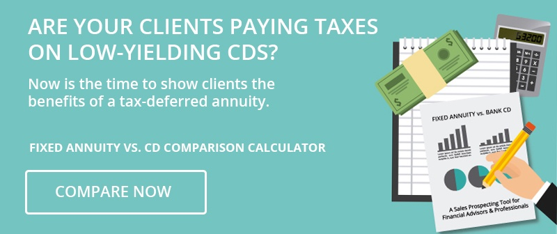 Compare Now- Fixed Annuity vs. CD