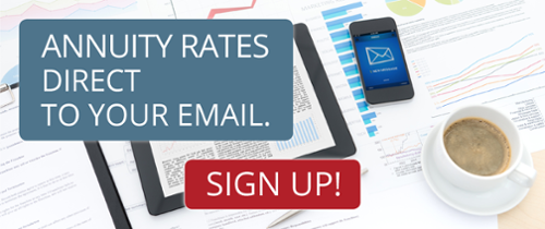 Sign Up For Weekly Annuity Rates To Your Email