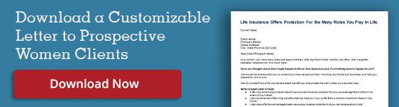 Life Insurance for Women - Sample Prospecting Letter