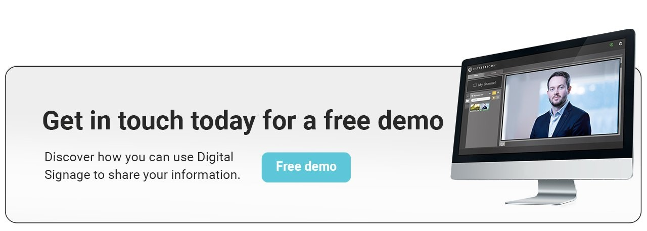 Get a Free demo of DatabeatOMNI today button