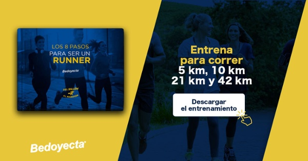 Descarga la guía del runner con entrenamiento para empezar a correr
