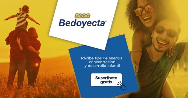 Bedoyecta - Sucríbete al blog con tips de energía, concentración y desarrollo infantil