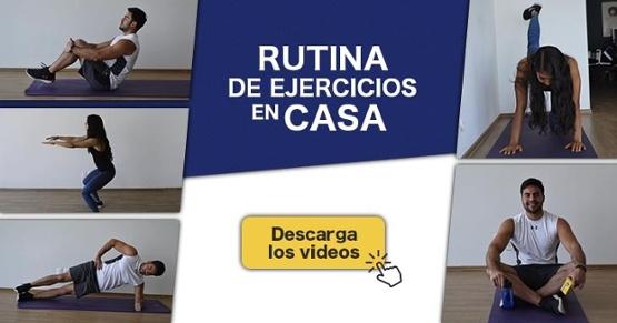 Descargar video Rutina de Ejercicios en Casa