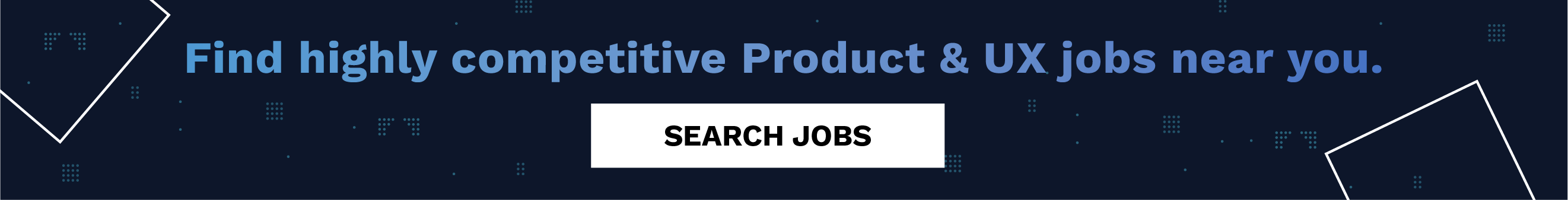 Find Product & UX jobs near you