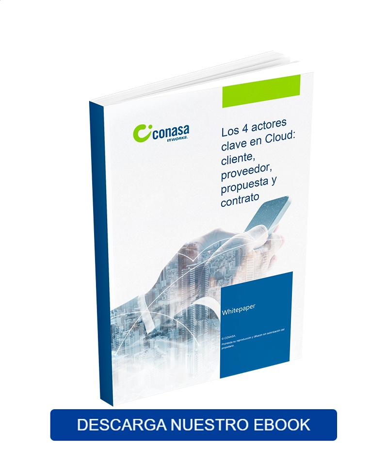 ebook los 4 actores del cloud