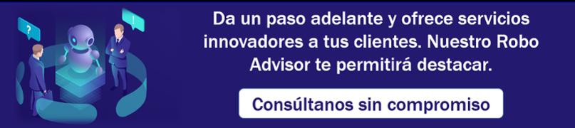 Servicios Fintech Robo Advisor