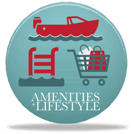 RIVERSEA AMENITIES + LIFESTYLE CTA