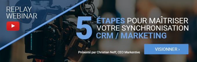 webinar synchronisation CRM et marketing automation