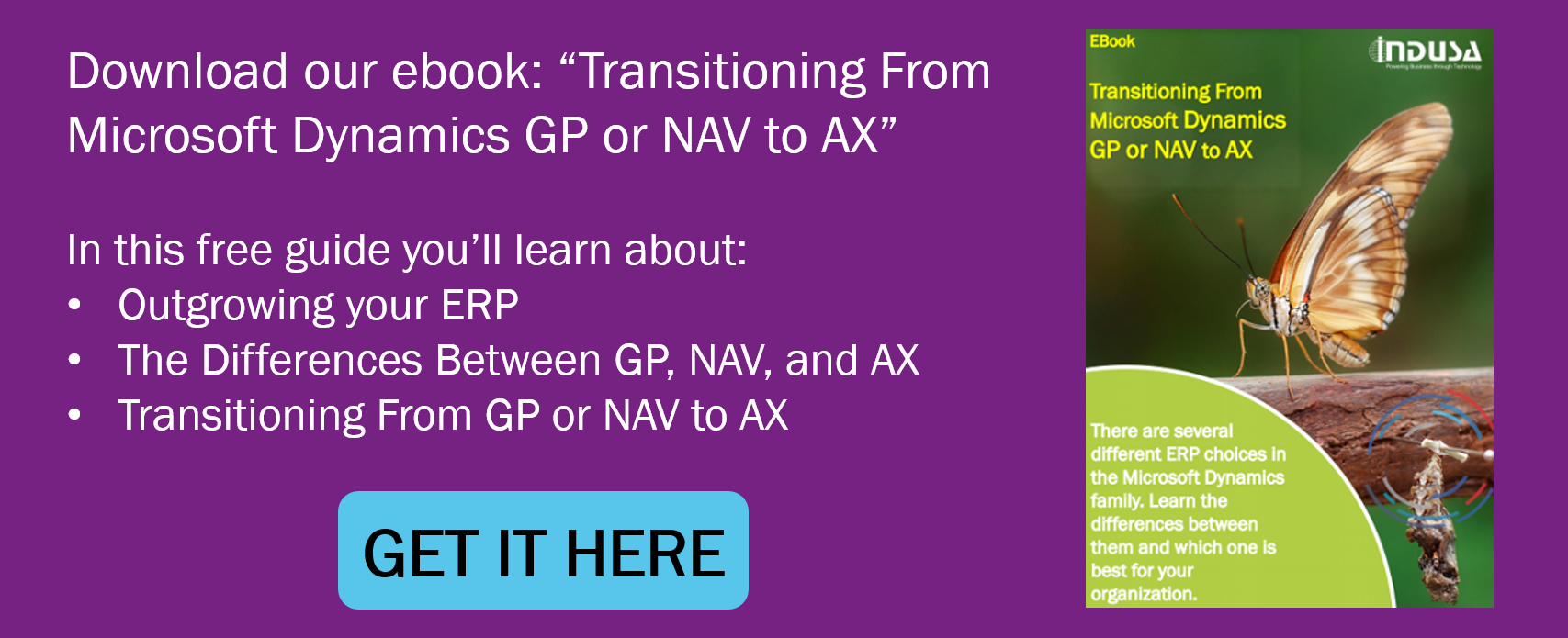 transitioning from GP or NAV to AX