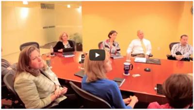 Leadership Landing client testimonial video CTA