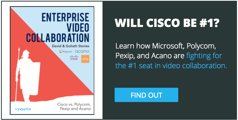 Cisco, Microsoft, Polycom, Pexip, Acano fight back in collaboration