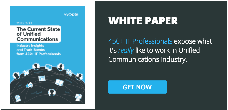 CTA – White Paper: 2016 Sate of Unified Communications