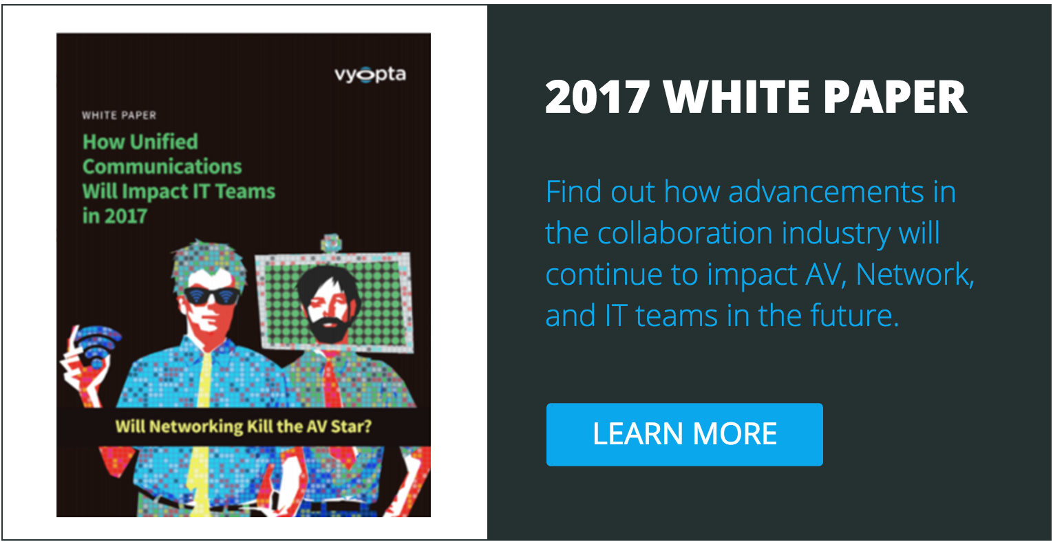 White Paper: AV/Network/IT White Paper for Collaboration