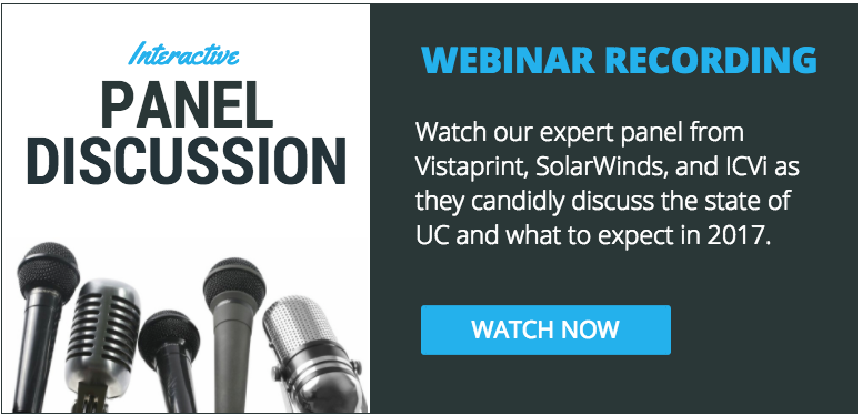 Expert webinar panel discussion for state of unified communication