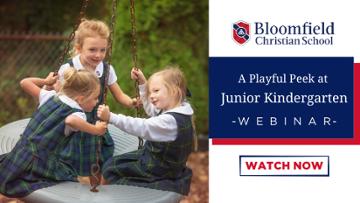 A Playful Peek at Junior Kindergarten