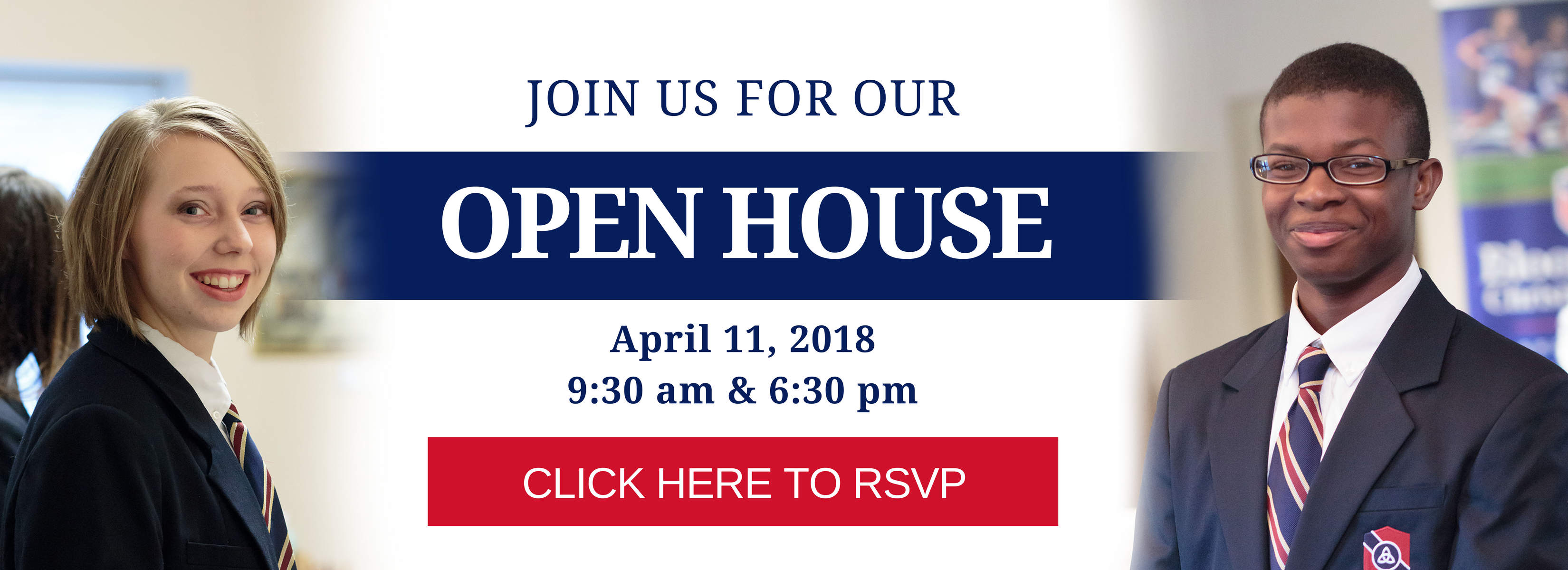 Click Here to RSVP for our Open House