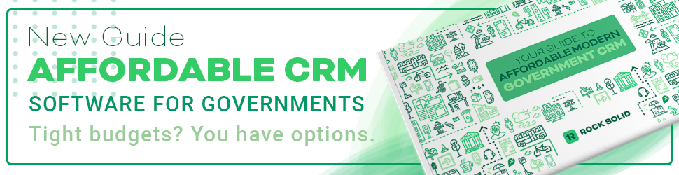 Affordable Government CRM Software