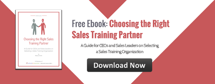 Choosing the Right Sales Training Partner